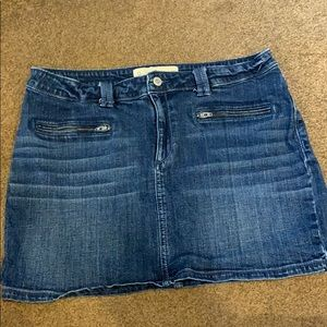 Hollister mini denim shirt size 13